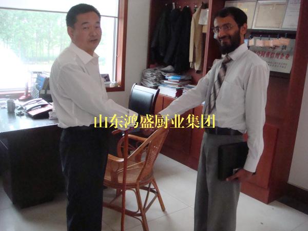 【孟加拉外商客户来访】实地考察硅烷贝博在线贝博贝博棋牌 大型蒸汽蒸贝博贝博棋牌