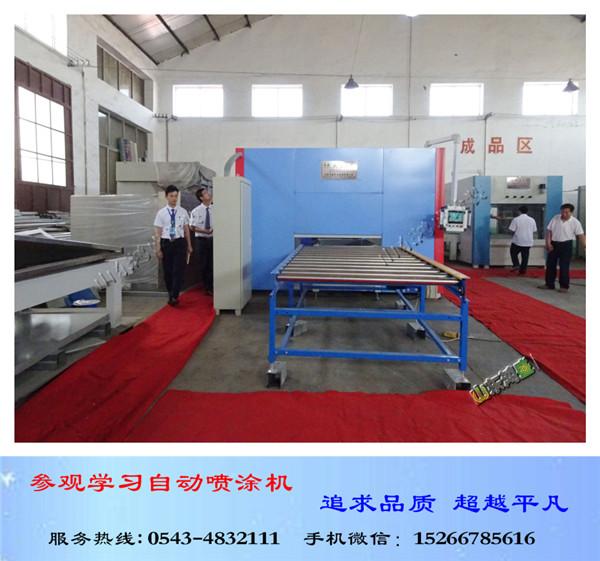 保温装饰一体板往复自动喷涂机、外墙氟碳漆自动喷涂生产线【科技领先】